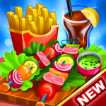Download  Cooking World Girls Games & Food Restaurant Fever 1.29 Apk