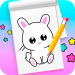 Download  How to draw cute animals step by step 1.4 Apk