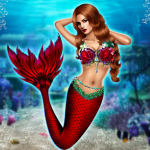 Unduh Mermaid Simulator: Underwater & Beach Adventure 1.0 Apk